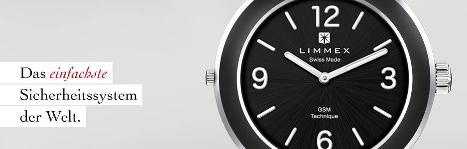 Die Limmex Notruf-Uhr: Das einfachste Sicherheitssystem der Welt.