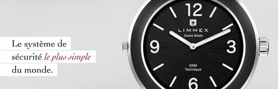 La montre d'appel d'urgence Limmex: Nouveauté mondiale.